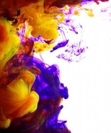 五彩云状油漆图片