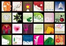 方形卡片收集
