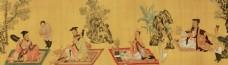 中式人物装饰画