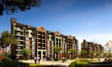 高档公寓园林景观设计图片
