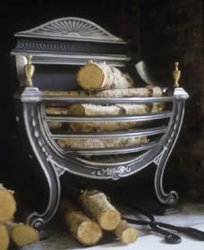 木柴壁炉效果图图片