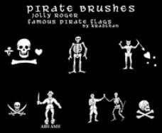 海盗旗的PS笔刷II