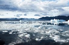 气候寒冷,冰川,冰山,冰岛,融化,雪,融化,水,冰,极性