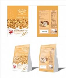 澳大利亚燕麦包装袋设计