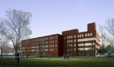 工厂建筑透视效果图片