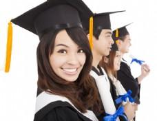 毕业的学子图片