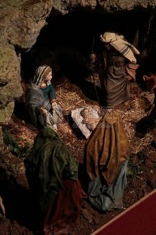 山洞里的耶稣
