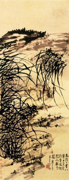 油画背景素材图片