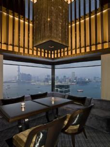 香港奕居酒店浪漫餐厅设计图片