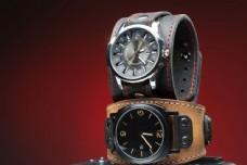 皮带时尚手表图片