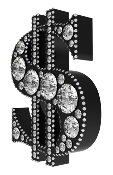 钻石字体图片