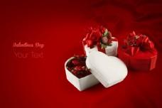 情人节礼物背景图片