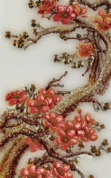 立体花卉装饰画