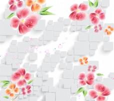 花卉抽象背景素材