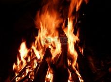 燃烧着的火焰