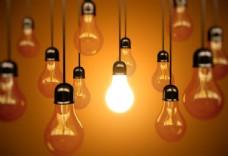 电灯节能环保主题图片
