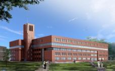 学校大楼建筑设计图片