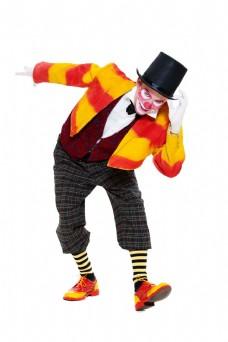 马戏团小丑图片
