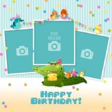 带模板的生日卡