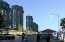 商业街建筑规划设计图片