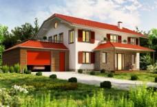 别墅建筑设计图片