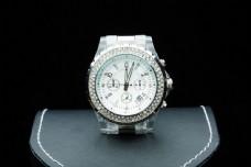 钻石手表摄影图片