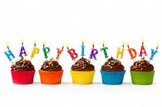 生日蛋糕摄影图片