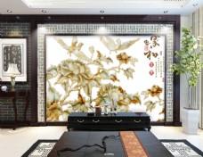 花卉装饰元素背景