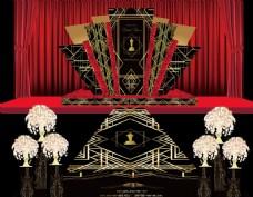 红黑婚礼盖茨比舞台