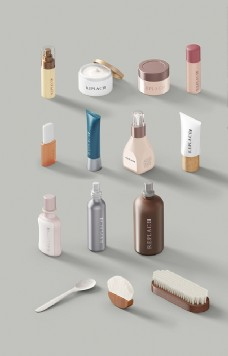 全套品牌化妆品样机