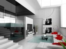 现代风格室内装饰图片