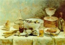 油画艺术装饰画
