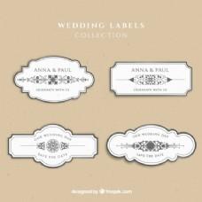 婚礼的标签集合