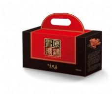 雪原熏鸡礼盒