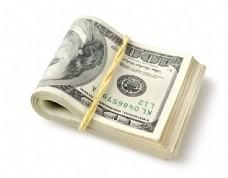 折叠的美元图片