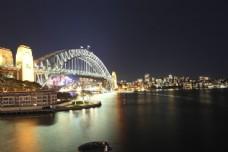 城市桥梁景色图片