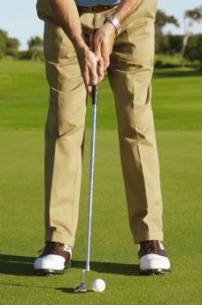 老人高尔夫图片