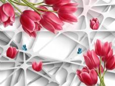 花卉元素装饰背景