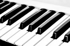 钢琴琴键素材图片