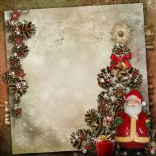 卡片与圣诞老人图片