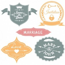 婚礼徽章收藏