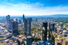 城市风景鸟瞰图片