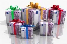礼物货币图片