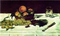 油画餐桌装饰画