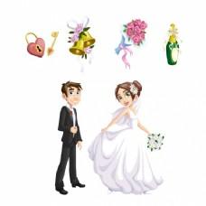 婚礼的元素集合