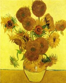 油画花朵装饰画