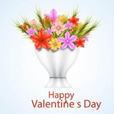 情人节快乐鲜花花束