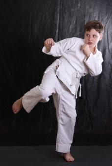 练武的儿童图片