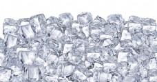 放在一起融化的冰块图片