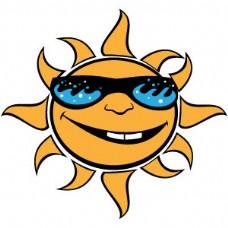 太阳眼镜矢量图